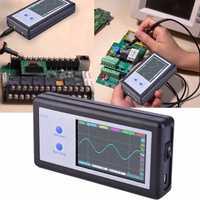 D602 200 KHz 2 Ch Mini portátil de bolsillo de tamaño de Panel táctil LCD Digital osciloscopio envío gratis