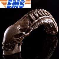 Alien VS depredador 1:1 alienígena cráneo Artware reina casa decoración AVP de la figura de acción modelo coleccionabke juguete W99