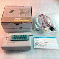 Livraison gratuite V8.51 XGecu TL866II Plus prise en charge du programmeur USB 15000 + IC SPI Flash NAND EEPROM MCU PIC AVR remplacer TL866A TL866CS