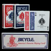 Una decada de unids 12 piezas de bicicleta de póker de bicicleta Original Magic Regular naipes Rider Back Standard Decks Magic Trick Red Blue Poker