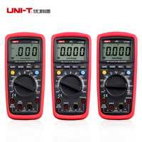 Multímetros digitales UNI-T UT139A UT139B UT139C True RMS mano eléctrico probadores Multimetro LCR metros amperímetro Multitester