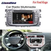 Liandlee para Ford Kuga 2008 ~ 2012 2 din coche Android GPS Navi navegación Radio TV DVD CD reproductor de Video de Audio estéreo OBD2