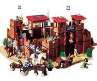 Educativos 33001 Salvaje Oeste Fort genuino edificio serie educativos bloques de construcción ladrillos juguetes regalo para Compatible con lego 6769