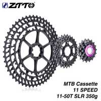 ZTTO 11 velocidad SLR bicicleta Cassette 11-50 T 11 s 11 V k7 11 velocidad 50 ultraligero 368G CNC rueda libre MTB bicicleta de montaña para XX1 gx m9000