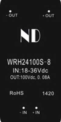 1 unids 2016 Nuevo DC convertidor Boost 24 V a 100 V alta tensión las mercancías de la calidad del módulo de energía del DCDC