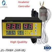 ZL-7918A... 100-240Vac multifunción automática incubadora controlador de temperatura y humedad para incubadora Lilytech xm-18