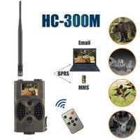 Tensdarcam Trail caza Cámara HC300M 940NM HD 1080 p GPRS MMS cámaras de infrarrojos GSM 2,0