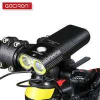 GACIRON Professionnel 1600 Lumens Vélo Lumière Puissance Banque Étanche USB Rechargeable Lumière De Vélo lampe de Poche