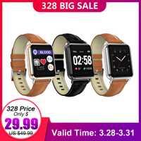2019 ropa nueva Q13 reloj inteligente ECG PPG BT de las mujeres de los hombres de la presión arterial llamada mensaje impermeable reloj podómetro para iOS Android