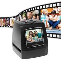Le Film de Photo de glissière négative de Scanner de film négatif portatif de 5MP 35mm convertit le câble d'usb avec 2.4