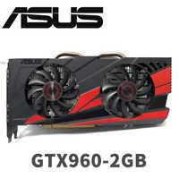 Asus GTX-960-OC-2GB GT960 GTX960 2G D5 DDR5 128 poco nVIDIA PC de escritorio de tarjetas gráficas PCI Express 3,0 gráficos de computadora tarjetas