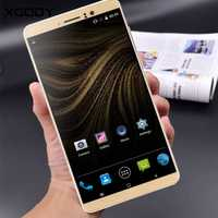 XGODY Smartphone 6,0 pulgadas Quad Core Dual tarjetas SIM 1 GB de RAM + 8 GB ROM Android 5,1 MTK6580 WCDMA 3G desbloqueado teléfonos celulares