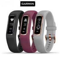 Original Garmin vivofit 4 impermeable Monitor de frecuencia cardíaca pulso de oxígeno en la sangre pulsera inteligente soporte de múltiples deportes de las mujeres