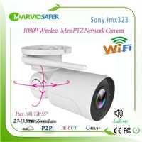 HI3516C 1080 P Audio en Bala inalámbrica al aire libre IP PTZ cámara de red wifi 2,7-13,5 MM 5X lente de Zoom. cámara apoyo TF TARJETA DE