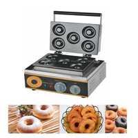 1PC Donuts Waffle maker FYX-5A 1500 W-stick eléctrico Donut Maker de hierro de la máquina de rosquillas caliente