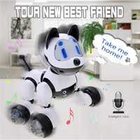 Caliente Youdi reconocimiento de voz inteligente juguete electrónico perro brillo acción juguete juguetes educativos niños regalo para los niños