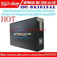 Gsmjustoncct Octoplus caja conjunto completo para Samsung para LG iPhone + Medusa JTAG de activación (paquete con 19 piezas cable)