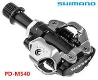 Pedal de bloqueo para bicicleta de montaña shimano PD-M540, pedales m540 mtb