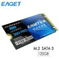 Eaget S300 120 GB SSD disco de estado sólido interno alta velocidad HD disco duro SATA 3 ngff M.2 disco SSD 120g para ultrabook loptop PC
