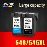 HWDID 2 Pack PG545 CL546 XL cartuchos de tinta, cartuchos de reemplazo para Canon PG-545 pg 545 CL-546 para Canon IP2850 MX495 MG2950 MG2550 MG2450