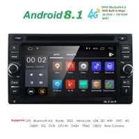 2G RAM Quad core 2 din android 8,1 WIFI nuevo coche universal Radio doble reproductor de DVD del coche de navegación GPS en dash coche PC estéreo vídeo
