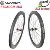 ¡UCI aprobación! Farsports 50mm ruedas de bicicleta de carbono bicicleta de carretera OEM, Wholesals, envío de la gota están disponibles