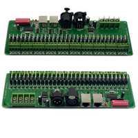 30 canales DMX 512 RGB LED controlador DMX decodificador regulador dc9v-24v para Iluminación LED