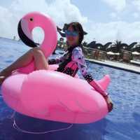 Aire inflable Flamingo piscina flotador colchón círculo Natación flotador inflable piscina anillo Juguetes para adultos para piscina juguete de verano