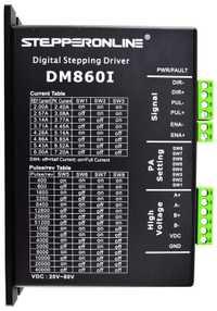 Nema 34 Digital paso a paso-paso CNC conductor 2,4-7.2A 36-110VDC para Nema 34 paso a paso Motor CNC Kit