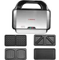 Máquina de sándwich ajustable con temperatura de 220 V, máquina de gofres eléctrica, utensilios de cocina, SW-93