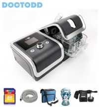 Doctodd GII CPAP salud Protable máquina de CPAP para Anti ronquido COPD CPAP ventilador con 4G memoria CPAP w/piezas libres