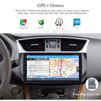 Android 8,0 reproductor Multimedia para auto Nissan Sylphy B17 Sentra Puslar GPS de navegación 10,2