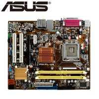 Envío Gratis original de la placa base para ASUS P5KPL-AM LGA 775 DDR2 USB2.0 juntas 4 GB G31 placa base de escritorio