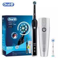 Oral B Sonic brosse à dents électrique Rechargeable blanchiment des dents PRO2000 3D Smart brosse à dents électronique adulte quotidien propre
