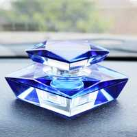 Perfume de coche de cristal Artificial ambientador de aire en el olor a coche sabor para casa de sabores de Perfume de coche asiento decoración Interior