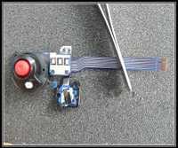 Nuevo original para Panasonic HPX260 AC130 AC160 interruptor de encendido botón del obturador AG-HPX260MC AC130MC AC160MC Cámara reparación