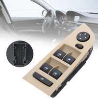 #61319217329 Ventanas delanteras espejo interruptor de control maestro unidad para BMW E90 LCI 318i 320i 325i 335i 330i 2004 2005 2006 2007 2008