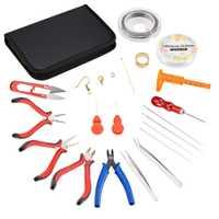 Metal bricolaje herramienta de la joyería conjuntos de joyería alicates herramientas agujas ganchos de los pendientes joyería accesorios Color mezclado