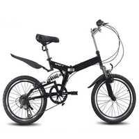 Bicicleta de Montaña plegable de 20 pulgadas 6 velocidad variable bicicleta de carretera bicicleta masculina y femenina bicicleta de velocidad variable