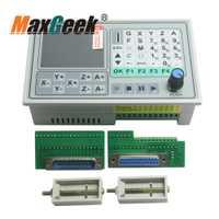 50 kHz CNC 4 ejes controlador sin conexión tablero de Control de movimiento tallado máquina de grabado Tarjeta de sistema de Control SMC4-4-16A16B