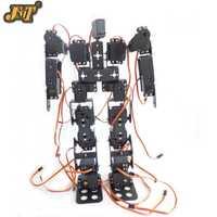 DIY Robot 17DOF bípedo robótico Robot Educativo humanoide Kit Servo soporte juguete educativo F17326