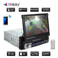 Hikity 2 Din Car audio estéreo de Radio Bluetooth 1DIN 7