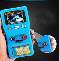 PEC-100 pantalla digital rango automático condensador electrolítico ESR medidor capacitancia puente