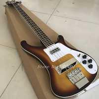 Guitarras chinas, alta calidad una variedad de colores rickenbacker bajo, fotos verdaderas, envío libre actividades promocionales