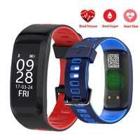 Nuevo Smartwatch F4 pulsera inteligente Monitor de ritmo cardíaco presión de la sangre oxígeno Fitness pulsera IP68 GPS a prueba de agua reloj inteligente