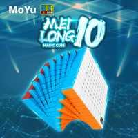 Moyu Mofangjiaoshi 10x10x10 Meilong 10x10 Cube de vitesse 84mm salle de classe professionnelle Cubo Magico Cubes de haut niveau