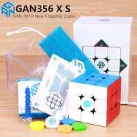GAN356 X S magnétique magique cube de vitesse GAN356X professionnel gan 356 X aimants puzzle gan 356 XS Gans cubes