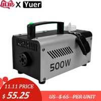 Haute qualité sans fil contrôle MINI 500W Machine à fumée/Machine à brouillard/professionnel brumisateur scène de mariage DJ effet 500W éjecteur de fumée