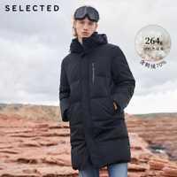 Select hiver doudoune nouveau canard vers le bas vêtements Double-col hommes mi-long vers le bas vêtement chaud manteau S | 418412526