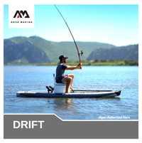 Tabla de paddle de apoyo Aqua Marina DRIFT, tabla de pesca inflable para surf, tabla de pesca de 330x97x15cm